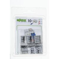 Boîte de 10 bornes Wago 8 entrées - Série 2273