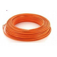 Fil H07VU 2.5mm²  Orange en 100m