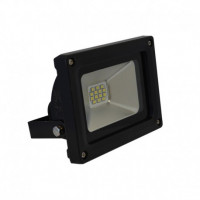 Projecteur LED extérieur plat 10W - Noir