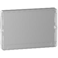 Porte transparente Resi9 1 rangée 18 modules