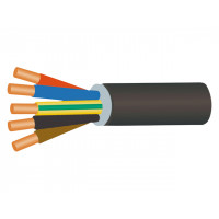 Câble RO2V 5G2,5 en 100m