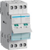 Interrupteur sectionneur tétrapolaire 25A