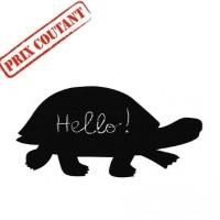Sticker ardoise, modèle tortue
