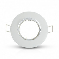 Support plafond Rond Orientable Blanc Ø93 mm