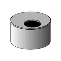 Tampon réduit 1 trou diamètre 100-50 NICOLL Bâtir Moins Cher