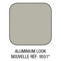 Option couleur ALUMINIUM LOOK