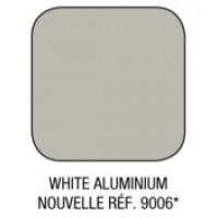 Option couleur WHITE ALUMINIUM