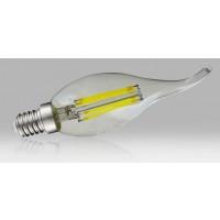 Ampoule à filament LED coup de vent E14 - 4W blanc neutre