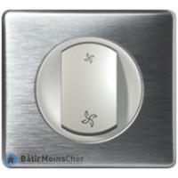 Poussoir pour VMC Céliane titane - Plaque Aluminium