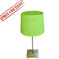 Lampe de table Tissea pistache