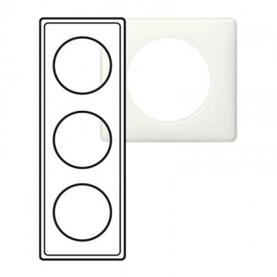 plaque 3 postes c liane yesterday c liane memories. Black Bedroom Furniture Sets. Home Design Ideas