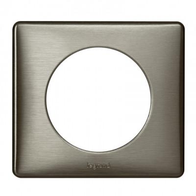 plaque 1 poste c liane tungst ne c liane m tal plaque. Black Bedroom Furniture Sets. Home Design Ideas