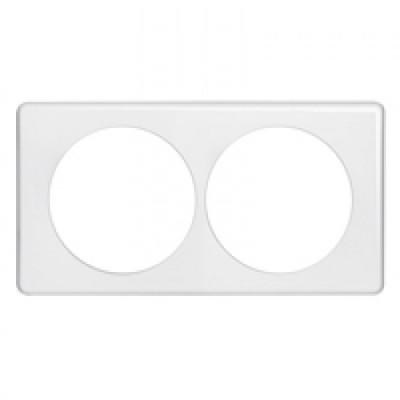 plaque c liane ip44 2 postes appareillage ip44. Black Bedroom Furniture Sets. Home Design Ideas
