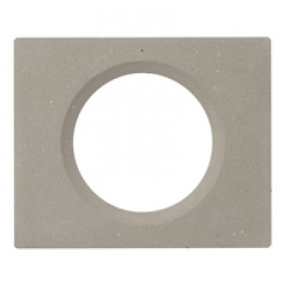 plaque 1 poste c liane b ton cir c liane mati res plaque appareillage legrand celiane. Black Bedroom Furniture Sets. Home Design Ideas