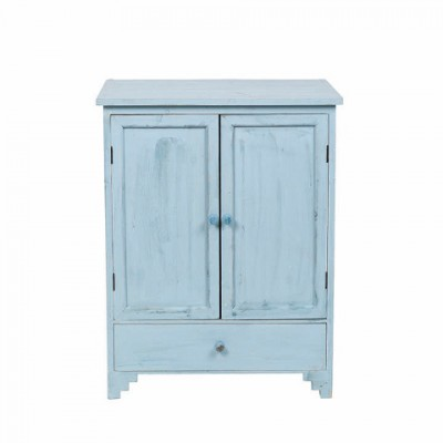armoire 39 mendi 39 bleu mobilier b tir moins cher. Black Bedroom Furniture Sets. Home Design Ideas