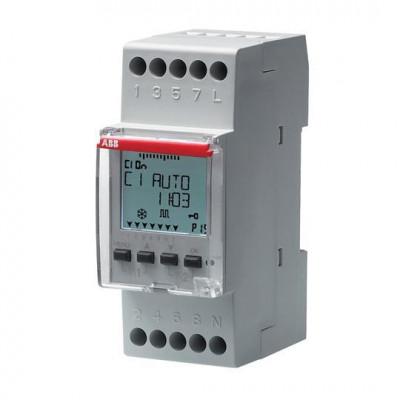 Horloge Hebdomadaire D1 Commande Modulaire Tableau électrique