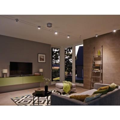 kit c ble tendu cardan led 6x4w c ble tendu eclairage int rieur eclairage b tir moins cher. Black Bedroom Furniture Sets. Home Design Ideas