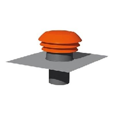 entr e sortie d 39 air toiture rouge diam 160mm sortie de toit murale de vmc ventilation. Black Bedroom Furniture Sets. Home Design Ideas