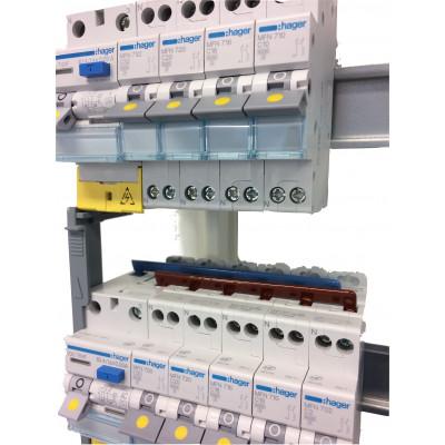 Tableau Hager monté 3 rangées - Tableau monté - Tableau électrique HAGER - Tableau électrique ...