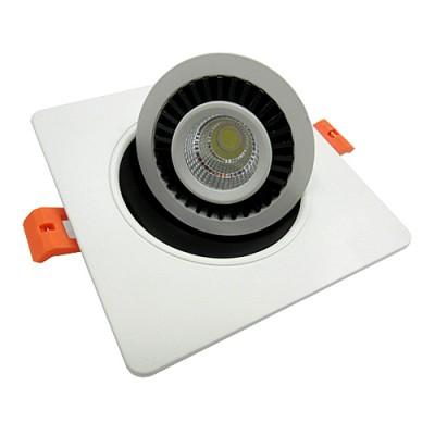spot disco carr 7w 4000 k pour la rt2012 spot led sp cial rt2012 spot encastrer. Black Bedroom Furniture Sets. Home Design Ideas