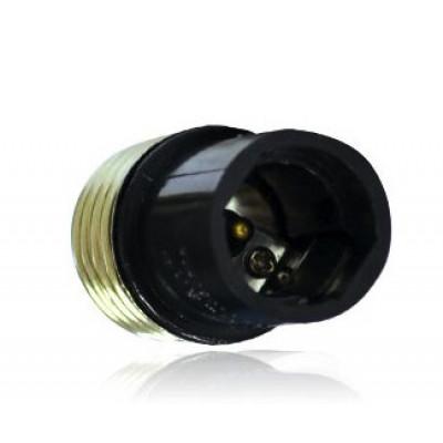 adaptateur de culot de e27 vers e14 douille et autres accessoires eclairage b tir moins cher. Black Bedroom Furniture Sets. Home Design Ideas