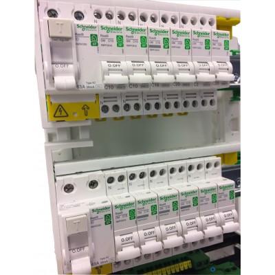 Tableau Resi9 monté 2 rangées - Tableau monté Resi9 - Tableau électrique SCHNEIDER - Tableau ...