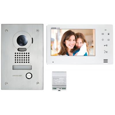 kit interphone vid o jo ecran 7 encastr e pose en encastr e interphone vid o. Black Bedroom Furniture Sets. Home Design Ideas
