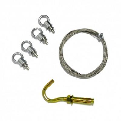 Kit de suspension dalle dalle de plafond plafonnier for Plafonnier pour suspension multiple