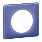 Plaque 1 poste Céliane 90's violet
