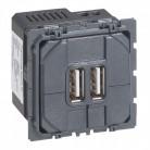 Mécanisme prise double chargeur USB - 67462 - Legrand