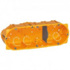 Boîte cloison sèche 3 postes prof. 40 - 080043 - Legrand