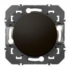 Poussoir simple dooxie 6A 250V~ finition Noir