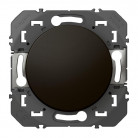 Interrupteur ou va-et-vient dooxie 10AX 250V~ finition Noir