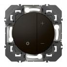 Variateur toutes lampes dooxie 2 fils sans Neutre en finition Noire - Legrand - 095270
