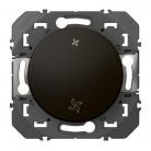Interrupteur commande VMC dooxie finition Noir - 095273 - Legrand