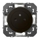 Prise de courant 2P+T Surface dooxie 16A finition Noir