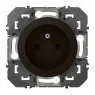 Prise de courant 2P+T à puits dooxie 16A finition Noir - 095276 - Legrand