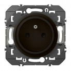 Prise de courant easyréno 2P+T faible profondeur dooxie 16A finition Noir - 095277 - Legrand