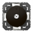 Prise TV type F à visser dooxie finition Noir - Legrand - 095283