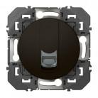 Prise blindée RJ45 cat6 STP dooxie finition Noir