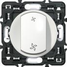 Interrupteur VMC Céliane blanc