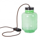 Lampe à poser Raw verte à LED 7W