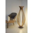 Lampe sur pieds Bamboo 22W à LED