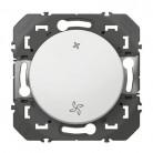 Interrupteur commande VMC dooxie finition blanc - 600007 - LEGRAND