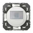 Interrupteur automatique pour minuterie en remplacement d'un poussoir dooxie finition blanc