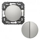 Transformeur pour réaliser 5 fonctions va-et-vient et poussoir dooxie finition aluminium - 600131 - Legrand