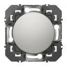 Interrupteur ou va-et-vient dooxie 10AX 250V~ finition aluminum - 600101 - Legrand