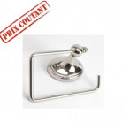 Porte papier toilette nickel