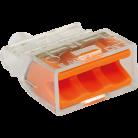 Boîte de 100 bornes 3 entrées - Fast lock