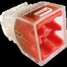 Boîte de 100 bornes 4 entrées - Fast lock
